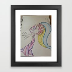 An Odd Love Framed Art Print
