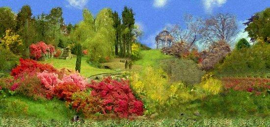 Spring Painting Oil Art Print