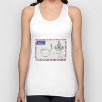 A Parisian, British Tea Unisex Tank Top