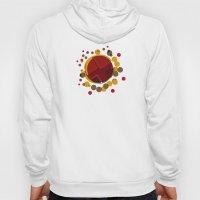 Circular Brown Abstract … Hoody