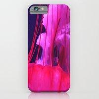 Pink Jellyfish iPhone 6 Slim Case