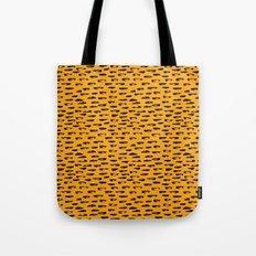 Hand drawn leopard pattern Tote Bag