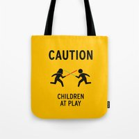 Children at Play Tote Bag
