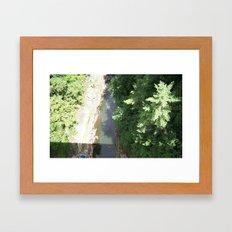 Long Way Down Framed Art Print