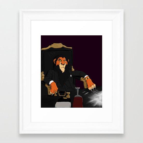 Scarface Framed Art Print