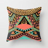 PeruNative Throw Pillow