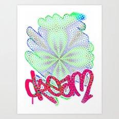 dream remix Art Print
