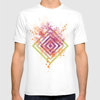 Tiger Bright Mens Fitted Tee White SMALL