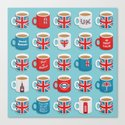 A Very British Brew Canvas Print