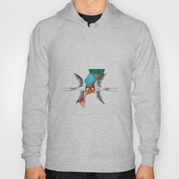 Swallows, Geometric Draw… Hoody
