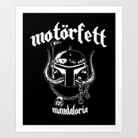 MotorFett Art Print