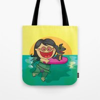 Beach Day! Tote Bag