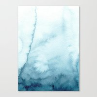 indigo shibori 07 Canvas Print
