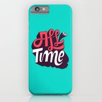 iPhone & iPod Case featuring All The Time by Chris Piascik