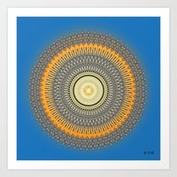 Fleuron Composition No. 214 Art Print