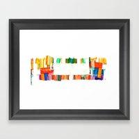 Colors.2 Framed Art Print