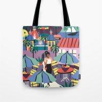 Contemporary Tote Bag