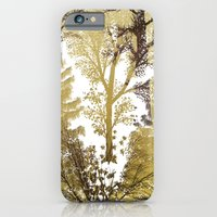 iPhone & iPod Case featuring Winter Trees Pattern by Klara Acel