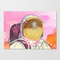 Unexpected Visitors Canvas Print