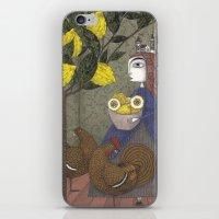 The Lemon Picker iPhone & iPod Skin