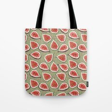 Figs Pattern Tote Bag