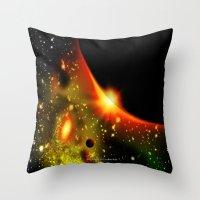 2012 SPACE 023 Throw Pillow