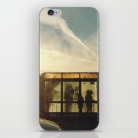Bus Stop - Woodward Ave iPhone & iPod Skin