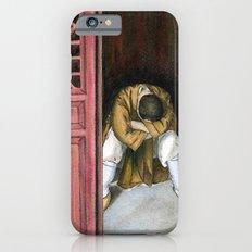 praying chinese monk iPhone 6 Slim Case