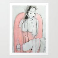 To have faith, is to trust yourself to the water Art Print
