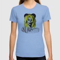 Rupaul  Womens Fitted Tee Athletic Blue SMALL