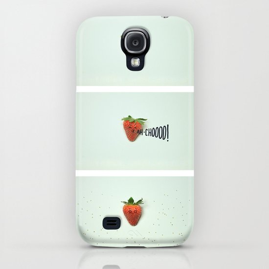 Strawberry Sneeze iPhone & iPod Case
