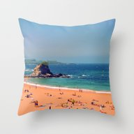 Summer In The North Of S… Throw Pillow
