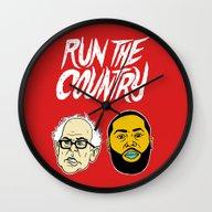 Run The Country Wall Clock