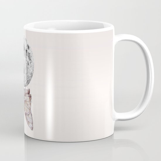 In which a moth is enticed by the light of the moon Mug