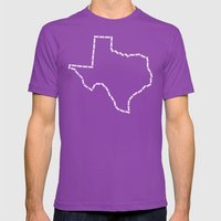 Ride Statewide - Texas Mens Fitted Tee Ultraviolet SMALL