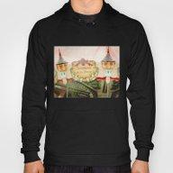Jules Verne Carousel Art… Hoody