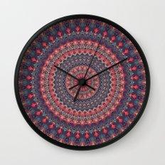 Mandala 417 Wall Clock