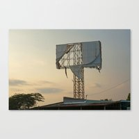 In Tatters Canvas Print