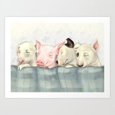 Find the Difference Art Print