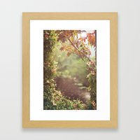 We Were Talking About Th… Framed Art Print