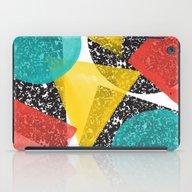 Watercolor Memphis Desig… iPad Case
