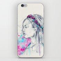 Lily III iPhone & iPod Skin