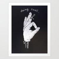 Doing Swell Art Print