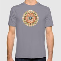 Gypsy Caravan Mandala Mens Fitted Tee Slate SMALL