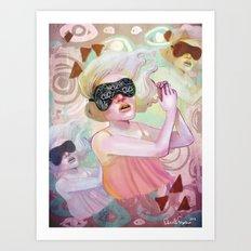 Dream another little dream Art Print