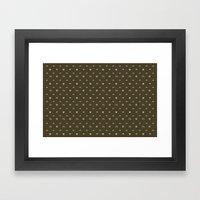 pixel texture Framed Art Print