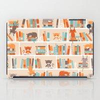 Library Cats iPad Case