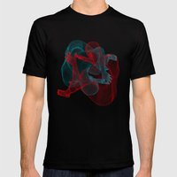 Circulation Mens Fitted Tee Black SMALL