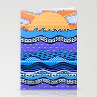 Sun on the Horizon Stationery Cards