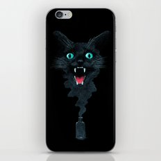 Black Cat Magic iPhone & iPod Skin